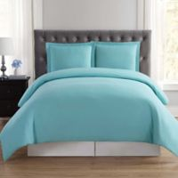 Truly Soft Everyday Full/Queen Duvet Cover Set in Turquoise