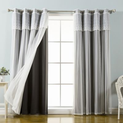 Buy Blackout Curtains From Bed Bath Beyond - White blackout curtains