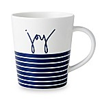 "ED Ellen DeGeneres Crafted by Royal Doulton® ""Joy"" Blue Stripe Mug"