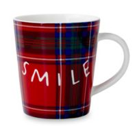 "ED Ellen DeGeneres Crafted by Royal Doulton® ""Smile"" Mug in Red"