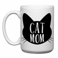 "Love You a Latte Shop ""Cat Mom"" Mug"