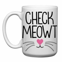 "Love You a Latte Shop ""Check Meowt"" Mug"