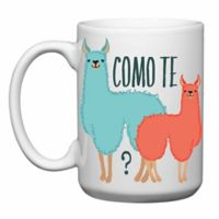 "Love You a Latte Shop ""Como Te Llamas"" Mug"