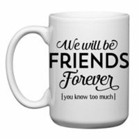 Love You a Latte Shop Friends Forever Mug