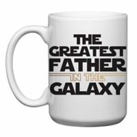 """Love You a Latte Shop """"The Greatest Father in The Galaxy"""" Mug"""