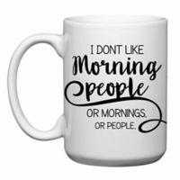 "Love You a Latte Shop ""I Don't Like Morning People"" Mug"