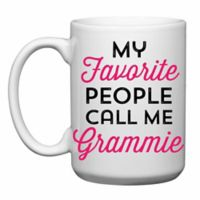 "Love You a Latte Shop ""My Favorite People Call Me Grammie"" Mug"