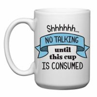 Love You a Latte Shop No Talking Mug