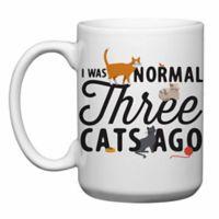 "Love You a Latte Shop ""I Was Normal Three Cats Ago"" Mug"