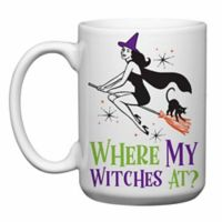 "Love You a Latte Shop ""Where's My Witches At"" Coffee Mug"