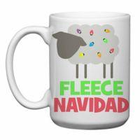 """Love You a Latte Shop """"Fleece Navidad"""" Mug"""