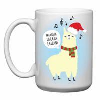 Love You a Latte Shop Christmas Fa La La Llama Mug