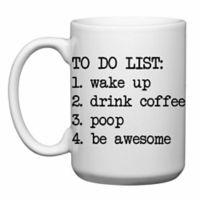 "Love You a Latte Shop ""To Do List"" Mug"