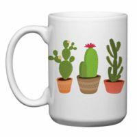 Love You a Latte Shop Three Cactus Mug