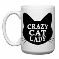 "Love You a Latte Shop ""Crazy Cat Lady"" Mug"
