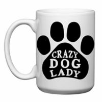 "Love You a Latte Shop ""Crazy Dog Lady"" Mug"
