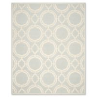 Safavieh Cambridge 8-Foot x 10-Foot Mila Wool Rug in Grey/Ivory