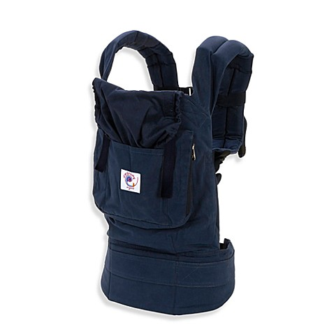 Ergobaby™ Organic Lining Baby Carrier in Navy with Midnight
