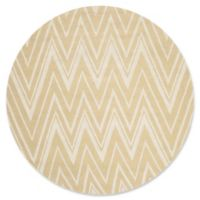 Safavieh Cambridge 6-Foot x 6-Foot Olivia Wool Rug in Light Gold/Ivory