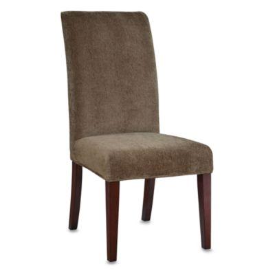 powell parsons chair olive green chenille slip over slipcover