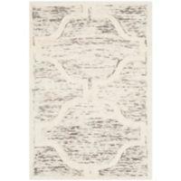 Safavieh Cambridge 2-Foot x 3-Foot Sloane Wool Rug in Light Brown/Ivory