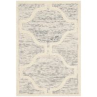 Safavieh Cambridge 2-Foot x 3-Foot Sloane Wool Rug in Light Grey/Ivory