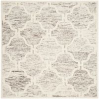 Safavieh Cambridge 6-Foot x 6-Foot Sloane Wool Rug in Light Brown/Ivory