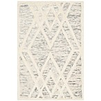 Safavieh Cambridge 2-Foot x 3-Foot Ruby Wool Rug in Grey/Ivory