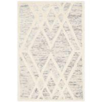 Safavieh Cambridge 2-Foot x 3-Foot Ruby Wool Rug in Grey/Ivory
