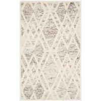 Safavieh Cambridge 3-Foot x 5-Foot Ruby Wool Rug in Light Brown/Ivory