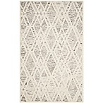 Safavieh Cambridge 4-Foot x 6-Foot Ruby Wool Rug in Light Brown/Ivory