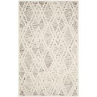 Safavieh Cambridge 4-Foot x 6-Foot Ruby Wool Rug in Light Brown/Ivory