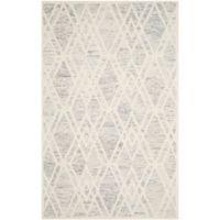 Safavieh Cambridge 4-Foot x 6-Foot Ruby Wool Rug in Grey/Ivory