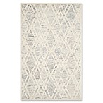 Safavieh Cambridge 5-Foot x 8-Foot Ruby Wool Rug in Grey/Ivory