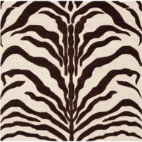 Safavieh Cambridge 6-Foot x 6-Foot Dina Wool Rug in Ivory/Brown