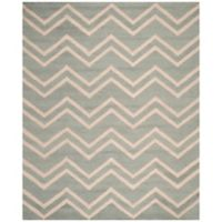 Safavieh Cambridge 9-Foot x 12-Foot Bella Wool Rug in Grey/Beige