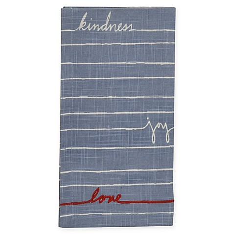 "image of ED Ellen DeGeneres™ ""Signature Words"" Napkin"