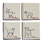 ED Ellen DeGeneres™ Animal Collection Cocktail Napkins (Set of 4)