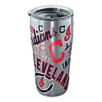 Tervis® MLB Cleveland Indians All Over 20 oz. Stainless Steel Tumbler with Lid