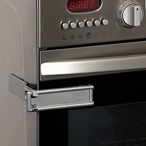 Dreambaby 174 2 Pack Microwave And Oven Lock In Silver