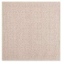 Safavieh Cambridge 6-Foot x 6-Foot Gena Wool Rug in Light Pink/Ivory
