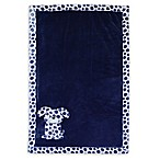Baby's First by Nemcor Plush Dog Blanket in Blue