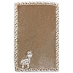 Baby's First by Nemcor Plush Giraffe Blanket in Taupe