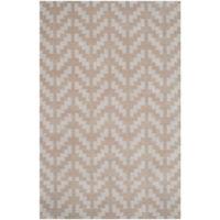 Safavieh Cambridge 4-Foot x 6-Foot Jolie Wool Rug in Grey/Taupe