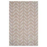 Safavieh Cambridge 5-Foot x 7-Foot Jolie Wool Rug in Grey/Taupe