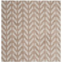 Safavieh Cambridge 6-Foot x 6-Foot Jolie Wool Rug in Grey/Taupe
