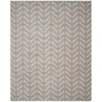 Safavieh Cambridge 8-Foot x 10-Foot Jolie Wool Rug in Grey/Taupe