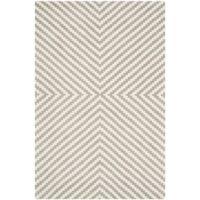 Safavieh Cambridge 3-Foot x 5-Foot Rosa Wool Rug in Grey/Ivory