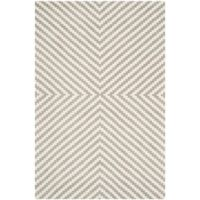 Safavieh Cambridge 4-Foot x 6-Foot Rosa Wool Rug in Grey/Ivory