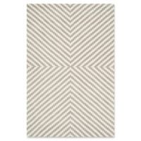 Safavieh Cambridge 5-Foot x 7-Foot Rosa Wool Rug in Grey/Ivory